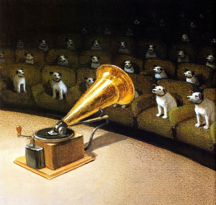 Their master's voice? ~ Michael Sowa