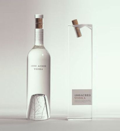 100 acres vodka : by Arnell