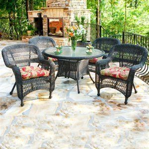 Tortuga Outdoor Patio Seating Set By Tortuga. $849.00. 5 Piece Dining Set.  THIS