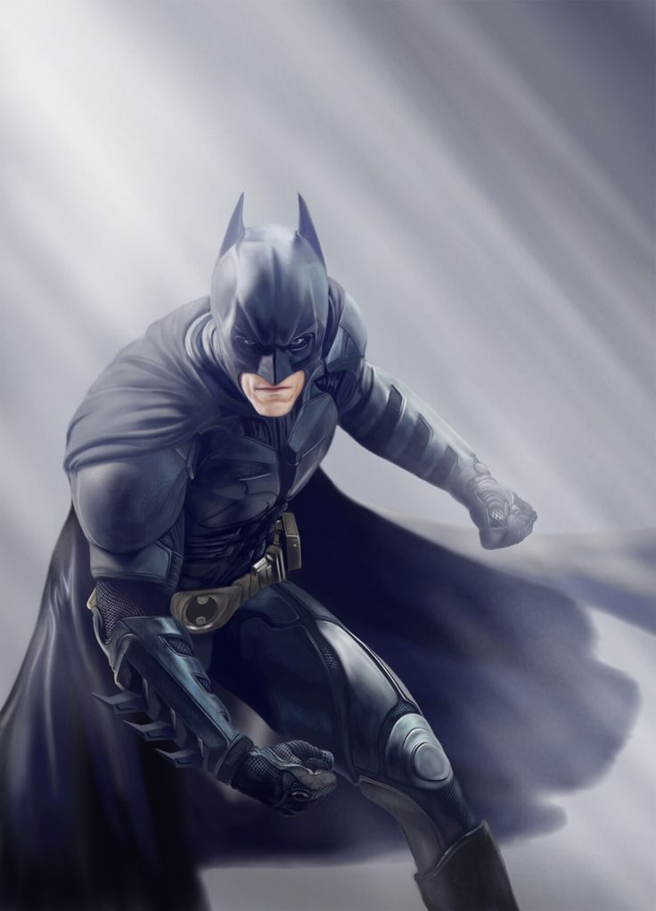 My Batman-Nolan digital painting