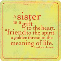 Scrapbooking Quotes sisters | Kaleidoscope Sisters Quote - Buy Now!