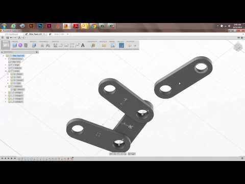 Assemblies, Joints, and Alignment in Fusion 360 - YouTube
