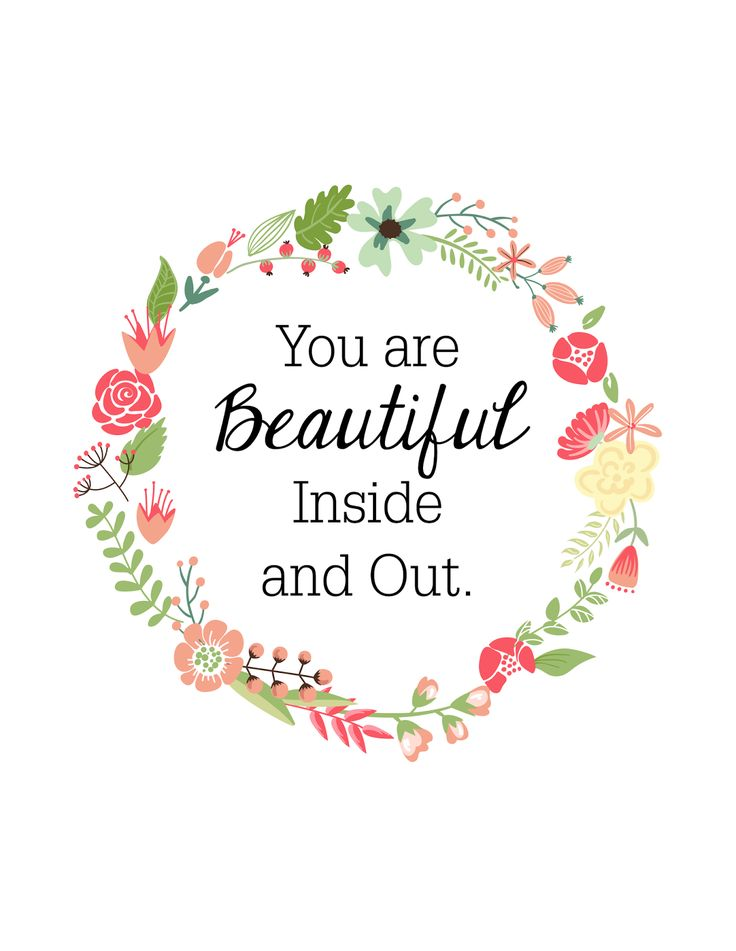 Free 8 x10 printable from Oh So Lovely  2 colors to chose from. Best 25  You are beautiful quotes ideas on Pinterest   Im