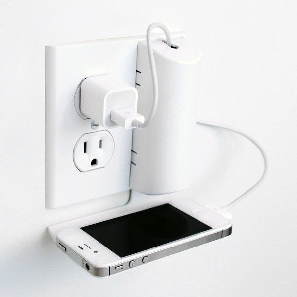 The Cord Charmer replaces traditional electrical outlet over plates with a unique cord and built-in shelf for electronic devices. inventhelpstore.com