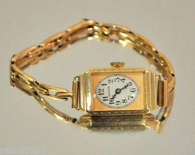 Women's gold Rolex, 1930s