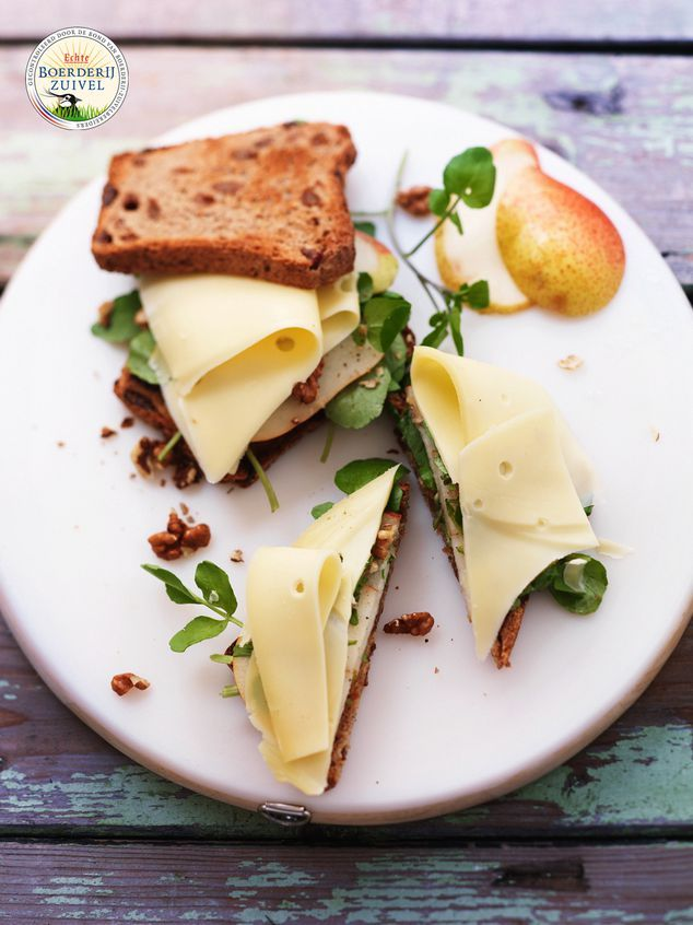 rozijnenbrood sandwich met Boerenkaas | ZTRDG magazine