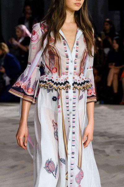 Temperley London at London Fashion Week Spring 2017 - Details Runway Photos
