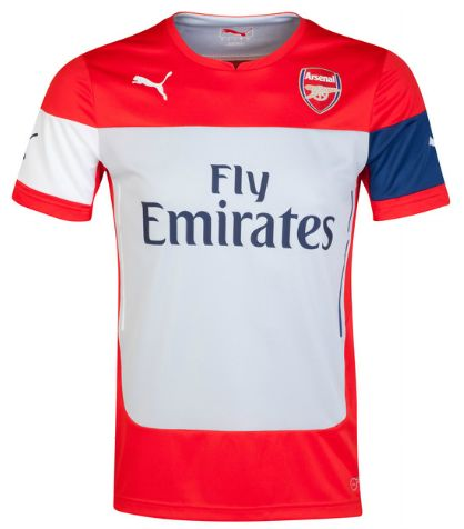 Arsenal Training Top Red Arsenal London Official Merchandise Available at www.itsmatchday.com