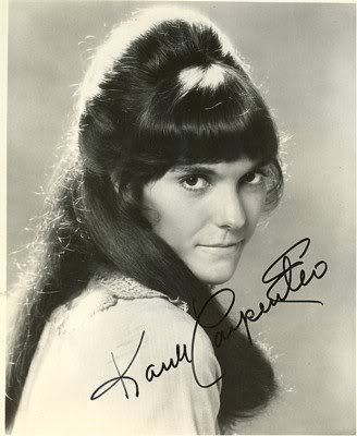 Karen Carpenter, one of my favorite singers, with a voice so pure and true!