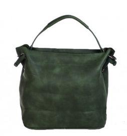 Bag in bag tas met rits groen