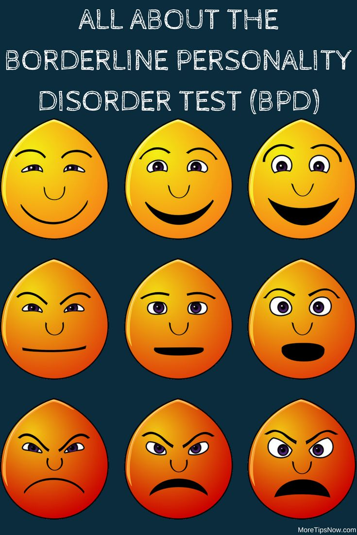 Borderline personality disorder test information (BPD). 10 criterion you need to know more about.