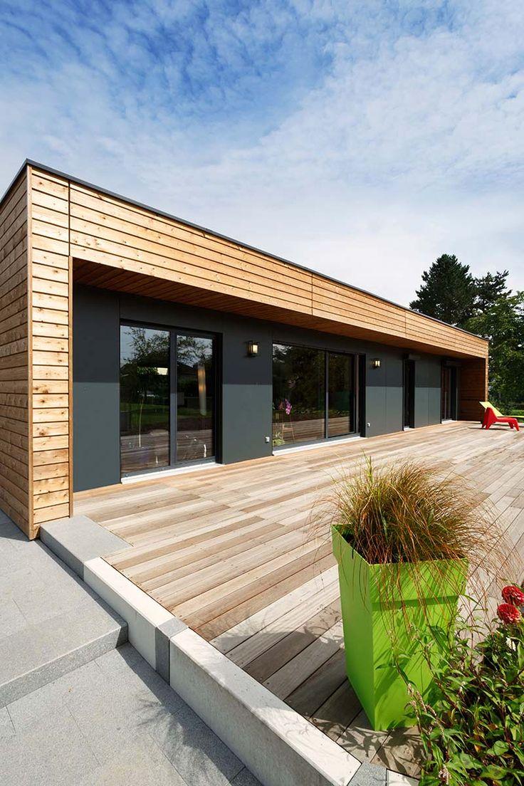 les 17 meilleures images concernant booa plain pied sur pinterest maisons ossature bois et. Black Bedroom Furniture Sets. Home Design Ideas