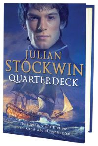 Julian Stockwin, author of the Thomas Kydd series