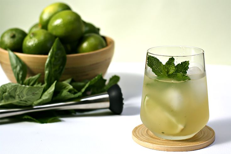 A refreshing summer drink — not too sweet, full of flavor and with a nice little kick to boot. Paired it with a cucumber and avocado ceviche.