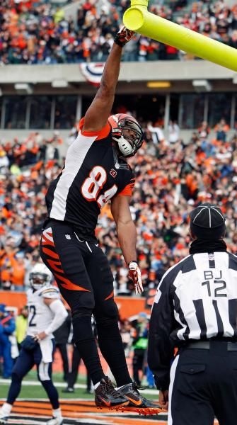 Cincinnati Bengals tight end Jermaine Gresham