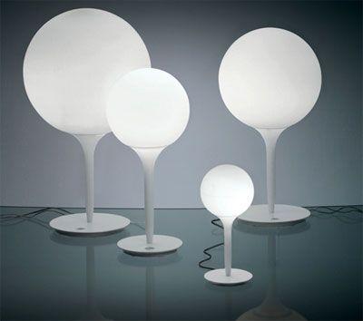 Michele De Lucchi space age Castore lamp for Artemide