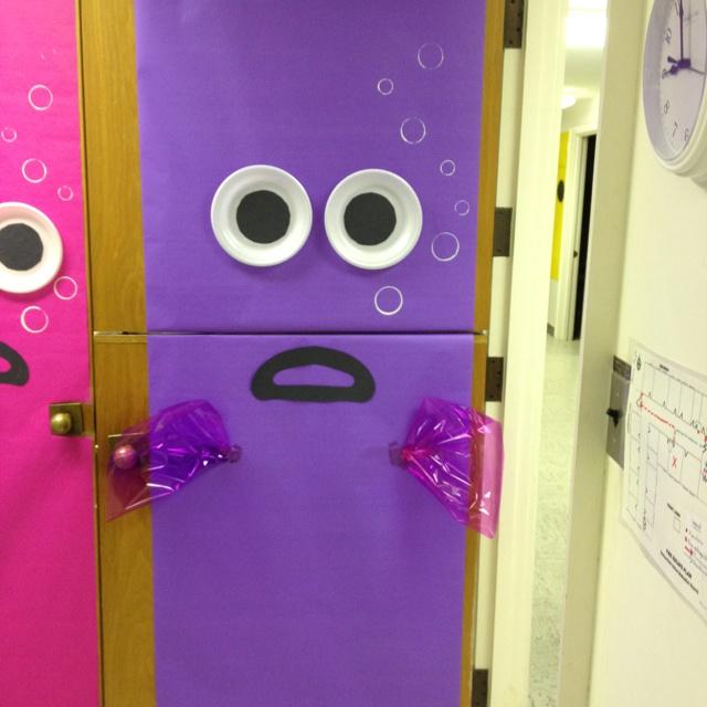 Fishy door for classroomsClassroom Theme, Classroom Decor, Theme Classroom, Kindergarten Classroom, Beautiful Classroom, Classroom Doors