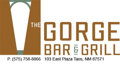 The Gorge Bar and Grill Taos lunch or dinner, also Taos diner for breakfast, lunch, or dinner