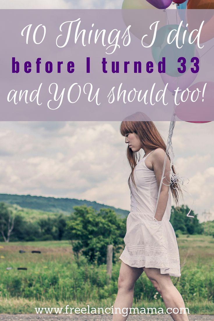 Reflecting on my 33rd birthday and the 10 things I did to improve my life. #advice #selfhelp #aging