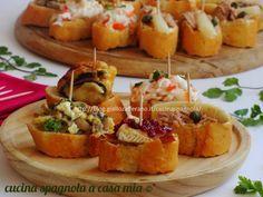 PINCHOS, ANTIPASTI FACILI E VELOCI, 5 IDEE FINGER FOOD PER UN BUFFET: http://blog.giallozafferano.it/cucinaspagnola/pinchos-antipasti-facili-veloci-ricette/