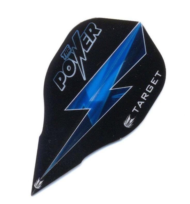 Target Power 9five Vison Edge Bagged, Phil Taylor Dart Flights, 3er Set langlebige Dartflights, powered by Phil Taylor, Improved Air-Flow, Long Lasting