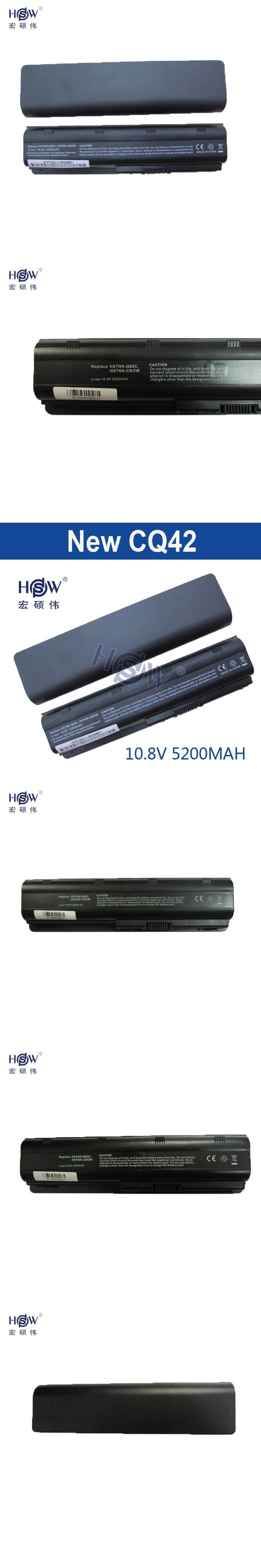 5200MAHLaptop Battery for HP Pavilion DV3 DM4 DV5 DV6 DV7 G4 G6 G7 CQ42 CQ32 G42 G62 G72 MU06 593553-001 HSTNN-CBOX HSTNN-Q60C