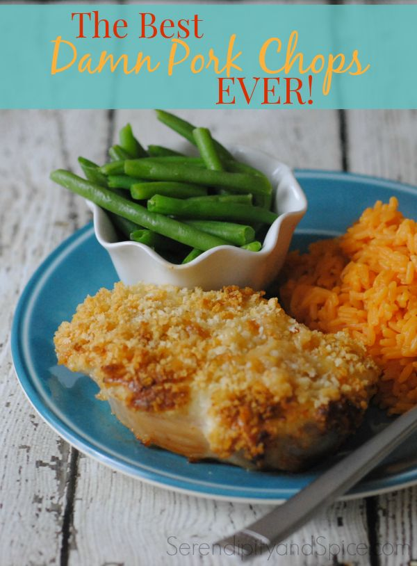These pork chops are melt in your mouth amazing! The BEST pork recipe on Pinterest! ~ http://serendipityandspice.com