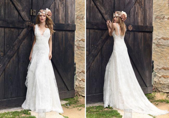 Vestido de noiva corte império: chique, clássico, moderno e boêmio! Todos estilos em 1! Image: 6