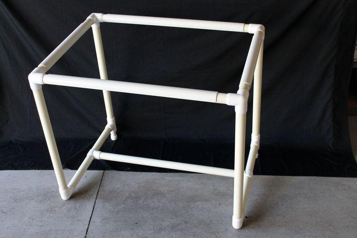 Qsnap Floor Standing Quilting Frame w/ Q-tilt Add-On PVC