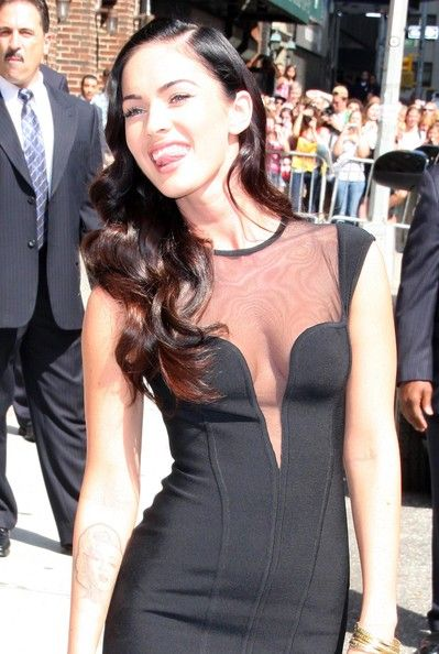 Megan Fox Photos: Megan Fox Visits The 'Late Show With David Letterman'