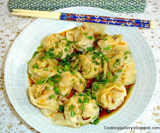 Cooking Gallery: Szechuan Wontons