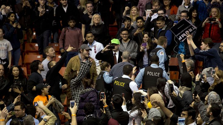 Marco Rubio, Ted Cruz, Bernie Sanders Among Candidates Reacting To Violence At Donald Trump Rally : The Two-Way : NPR