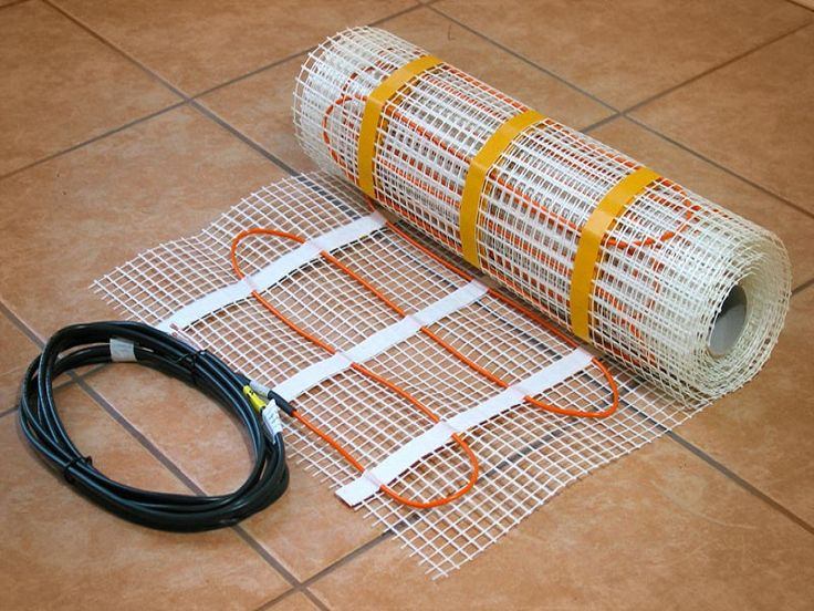 Tile Floor Heating Wire ~ http://lanewstalk.com/the-heated-tile-floor-project-preparation/
