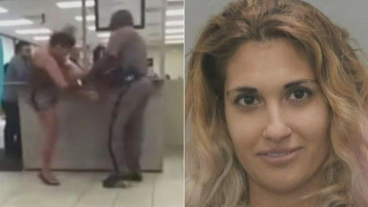 A woman's meltdown at a Florida DMV caught on video. (Guess she never grew out of her spoiled toddler stage)