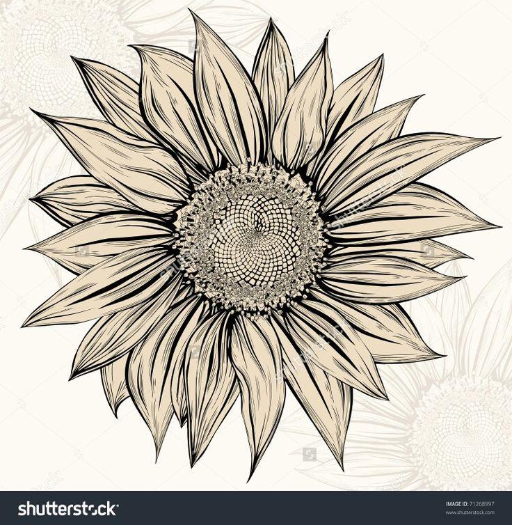 550 best Art - Sunflowers images on Pinterest | Sunflower ...