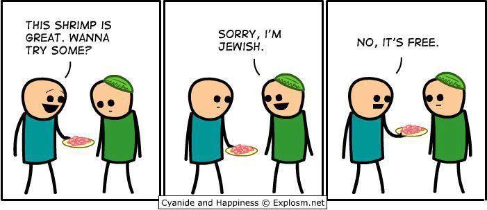 Jew jokes lol