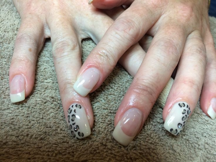 Sand and leopard print