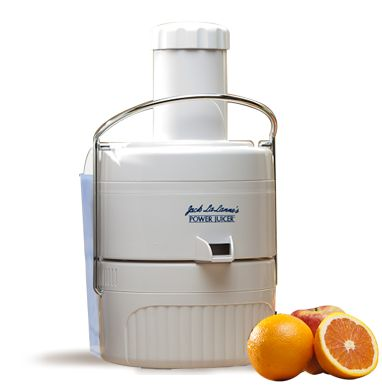 Jack LaLanne's Power Juicer™ | Free Shipping! Exclusive New Model   (or the stainless steel model)