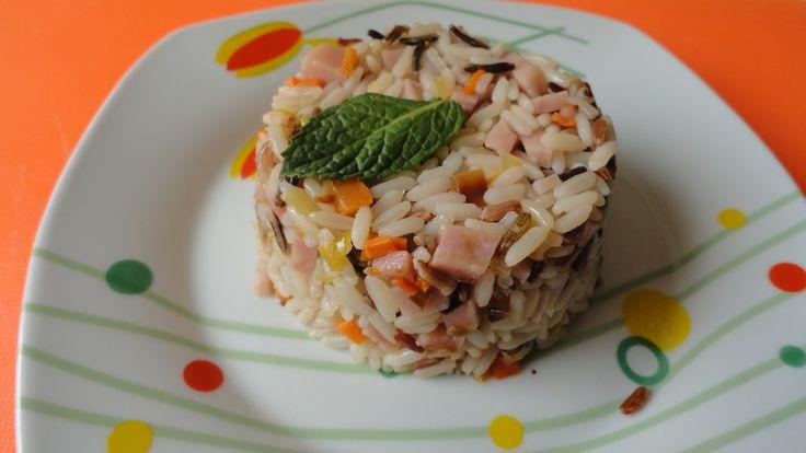 Diez guarniciones diferentes  arroz multicolor