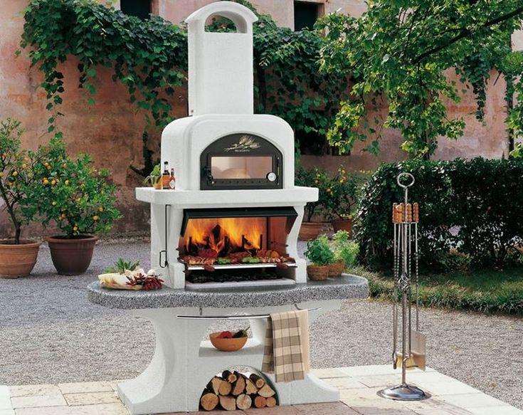 Camini Esterni In Muratura : Barbecue a gas arredamento giardino modelli di il