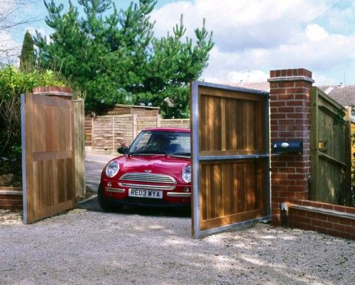 Automatic Gate for Carport and that material and style of gate.