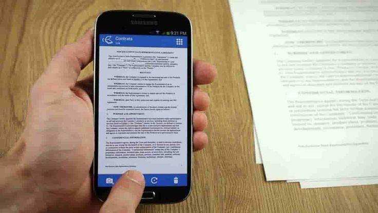 Come scansionare documenti con Android :  Le migliori app scanner