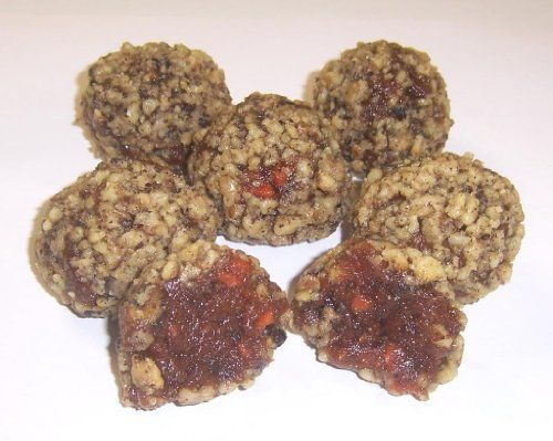 Scott's Cakes Carrot Cake Ball Treats with Ground Walnuts in a 1/2 lb. Ribbon-n-Holly Box - http://mygourmetgifts.com/scotts-cakes-carrot-cake-ball-treats-with-ground-walnuts-in-a-12-lb-ribbon-n-holly-box/
