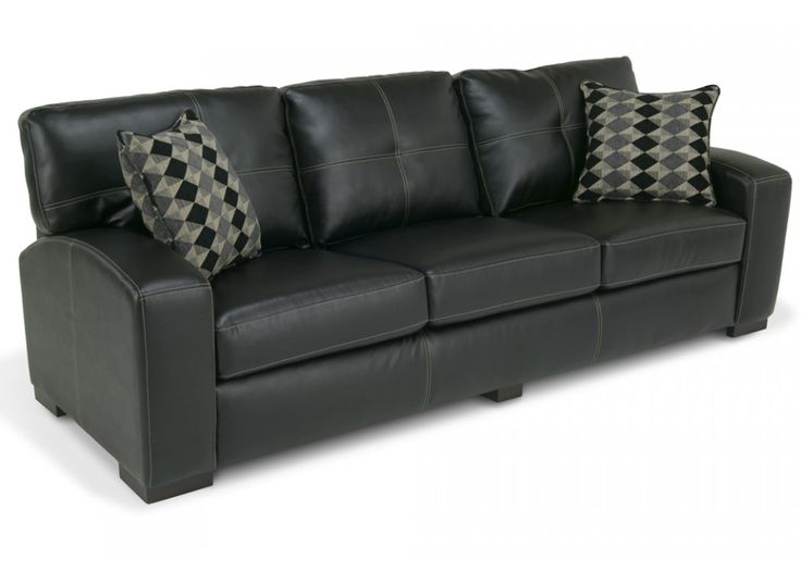 Braxton 92quot sofa sofas living room bob39s discount for Bob s leather sectional sofa