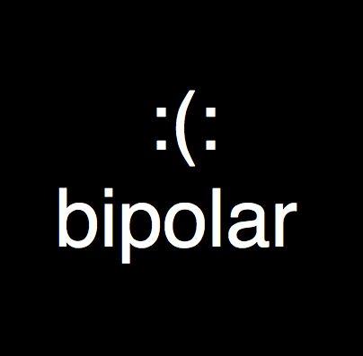 Bipolar: Layout Inspiration, Funny Bipolar Quotes, Quotes Bipolar, Typography Quotes, Bipolar Smiley, So True, Bi Bipolar, My Style, Bipolar Funny