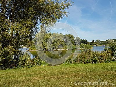 JCB Lake, JCB Headquarters, Rocester, Staffordshire