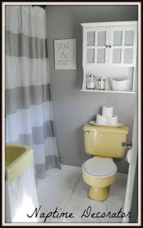 Budget Bathroom Makeover: One Year Later