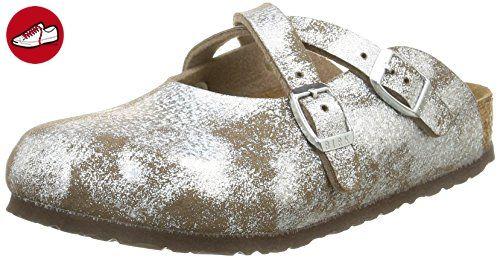 Birkenstock  Dorian,  Mädchen Hausschuhe, mit Warmfutter , Beige - Beige - Beige (Birko-Flor Stardust Stone) - Größe: 32 - Birkenstock schuhe (*Partner-Link)