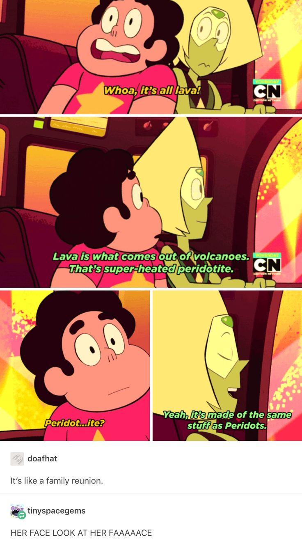 Steven Universe, Peridot and Steven