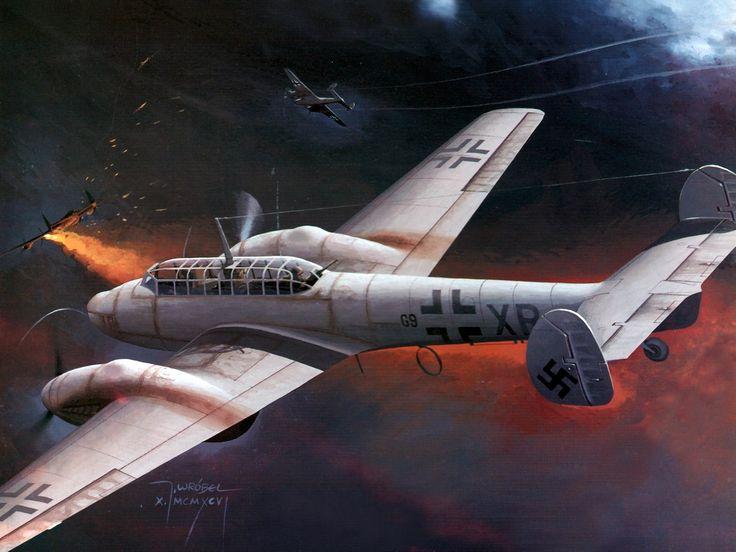 Messerschmitt Me 110   Fighter Aircraft   Pinterest ...